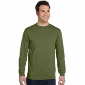 Econscious Men's 5.5 oz. 100% Organic Cotton Classic Long-Sleeve T-Shirt
