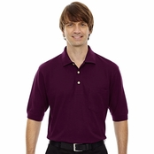 Extreme Men's Cotton Blend Pique Polo Shirt With Pocket