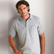 Gildan DryBlend 50/50 Jersey Knit Pocket Polo Shirt