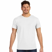 Hanes 100% Ringspun Cotton Nano Pocket T-Shirt