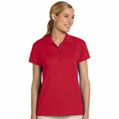 Jerzees Ladie's Polyester Micro Pointelle Mesh Polo Shirt