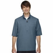 North End Men's MICRO Plus Short Sleeve Windshirt
