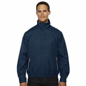 North End Men's Micro Twill Bomber Jacket