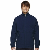 North End Men's Textured Ottoman Mid-Length Jacket