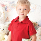 Rabbit Skins Toddler Polo Shirt