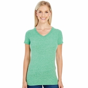 Threadfast Apparel Ladie's Triblend Short-Sleeve V-Neck Tee