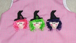 Custom Made Halloween Witches Dress Or Outfit.