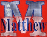Childrens Custom 4th Of July Outfits & Personalized Patriotic Clothes