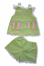 Custom Made Girl's Butterfly Dress Or Outfit.