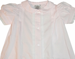 Baby Girl's Gown, Pink Coming Home or Day Wear