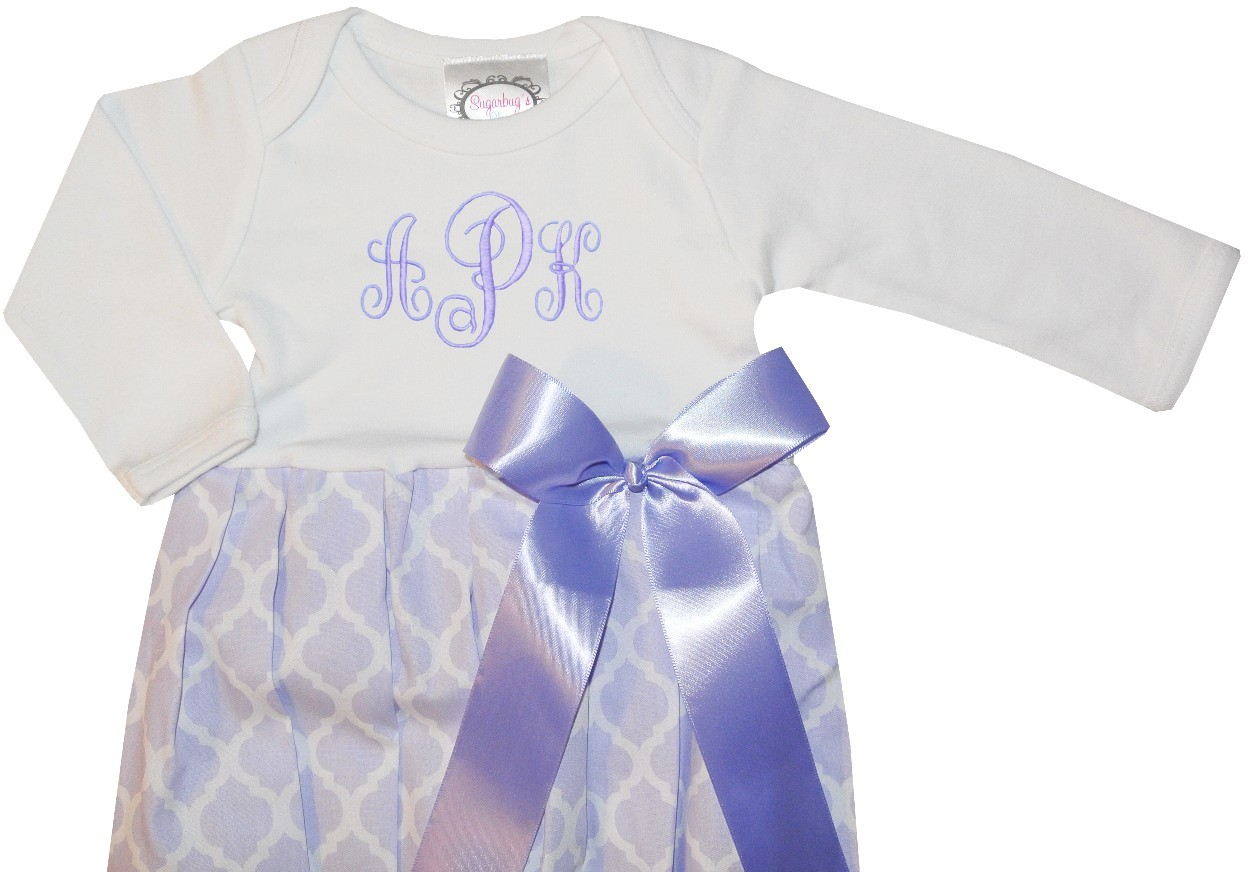 Attractive Baby Girl Sleeper Gowns Image Collection - Ball Gown ...