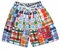 Banana Split Boy's Madras Swim Suit Trunks