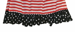 Banana Split Smocked Minnie Mouse Dress