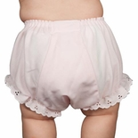 Baby Girl's Monogrammed Bloomers, Personalized Diaper Covers