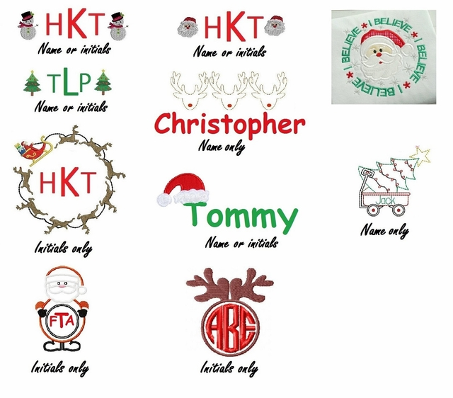 childrens heirloom dresses custom disney outfits birthday dresses and outfits - Christmas Monograms