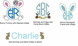 Boy's Easter Monograms