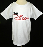 Mickey Mouse Monogrammed Disney Shirt, Custom for Boys.