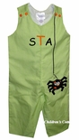 Boy's Itsy Bitsy Spider Halloween Custom Outfit