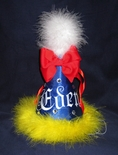 Snow White Monogrammed Birthday Hat
