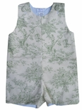 Custom Central Park Toile John John, Romper, Longall Or Outfit.