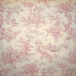 Central Park Toile, pink