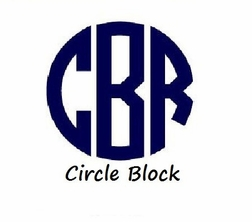 Circle Block (Initials only)