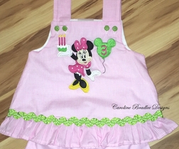 Custom Made Disney Minnie Mouse Birthday Cupcake Dress or Outfit