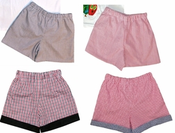 Custom Boy's Shorts in Various Fabrics
