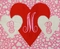 Custom Made Girl's Monogrammed Appliqued Valetine Hearts Dress in Michael Miller's Zillions of Hearts