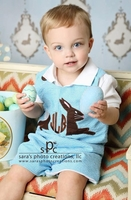 Monogram Bunny Rabbit Shirt, John John or Longall