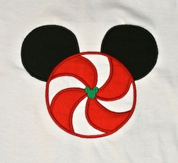 Mickey Mouse Christmas Peppermint Disney Outfit