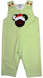 Christmas Mickey Mouse Santa Clause John John, Longall or Outfit