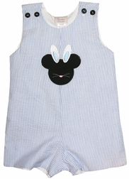 Disney Mickey Mouse Boy's Bunny John John or Shorts Outfit
