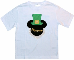 Disney Mickey Mouse Boys St Patricks Day Leprechaun Shirt