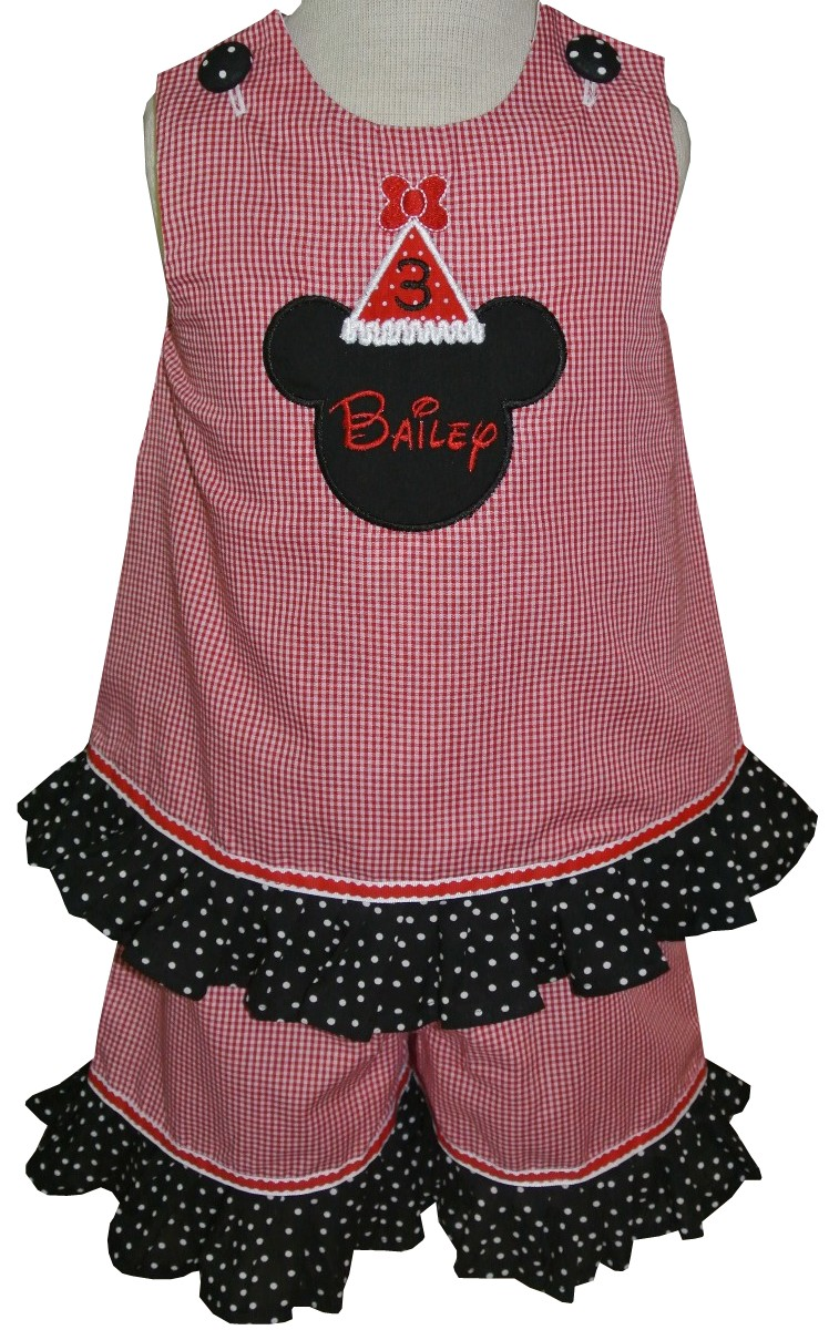 ad20d06d640e0 Minnie Mouse Birthday Hat Custom Disney Dress Or Outfit.