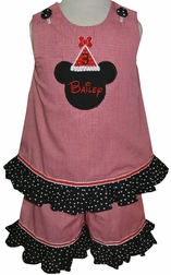 Minnie Mouse Birthday Hat Custom Disney Dress Or Outfit.