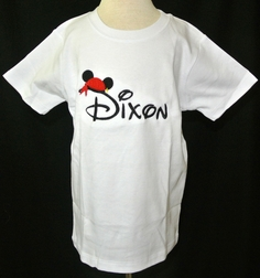 Pirate Mickey Mouse Disney Custom Monogrammed Shirt