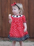 Children's Cottage | Smocked Disney, Mickey and Minnie Dresses & Outfits