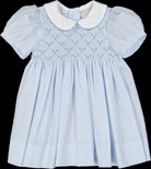 Feltman Brother's Girl's Smocked Diamond Bullions Dress