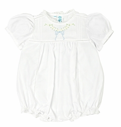 Feltman Brothers Baby Girl's Floral Leaf Bow Bubble