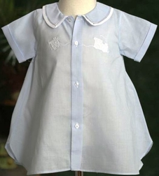 Feltman Brothers Gown for Bringing Baby Boy Home, Day Gown.