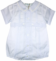 Feltman Brothers Baby Boy's Blue Romper Bubble