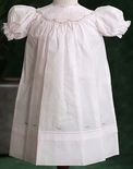Feltman Brothers Baby Dress for Girls in Pink Or Blue.
