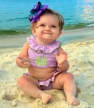 Childrens Swimsuits, Personalized Swimwear Cover Ups & Sun Hats