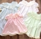 Heirloom Girl's Dress with Lace Pleated Collar Available in Various Pastels