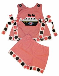 Minnie Mouse Disney Cruise Ship Dress or Outfit