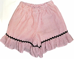 Girl's Ruffle Shorts or Capris in Custom Various Fabrics