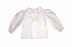 Rosalina Girl's Long Sleeve Blouse Body Suit.