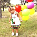 Girl's Custom Made Clothing, Personalized Dresses & Outfits for Girls