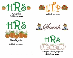 Girls Fall Monograms